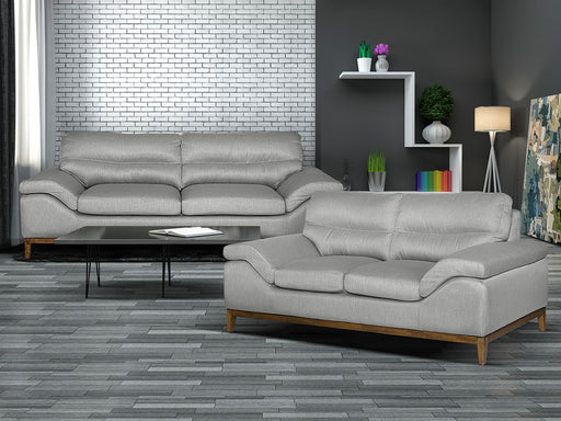 Sala Andiamo - Sofa y Love Seat en Barce Gravel