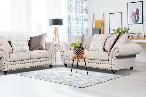 Sala Royal - Sofá y Love Seat en Lotus Beige