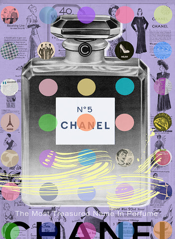 king of pop art nelson de la nuez chanel art