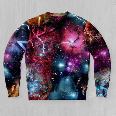Atomic Cloud Pullover Hoodie - EDM Rave Street Wear Abstract Apparel