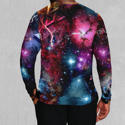 Astral Coast Pullover Hoodie - EDM Rave Street Wear Abstract Apparel