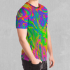 Acid Pool Tee - EDM Rave Festival Street Wear Abstract Apparel
