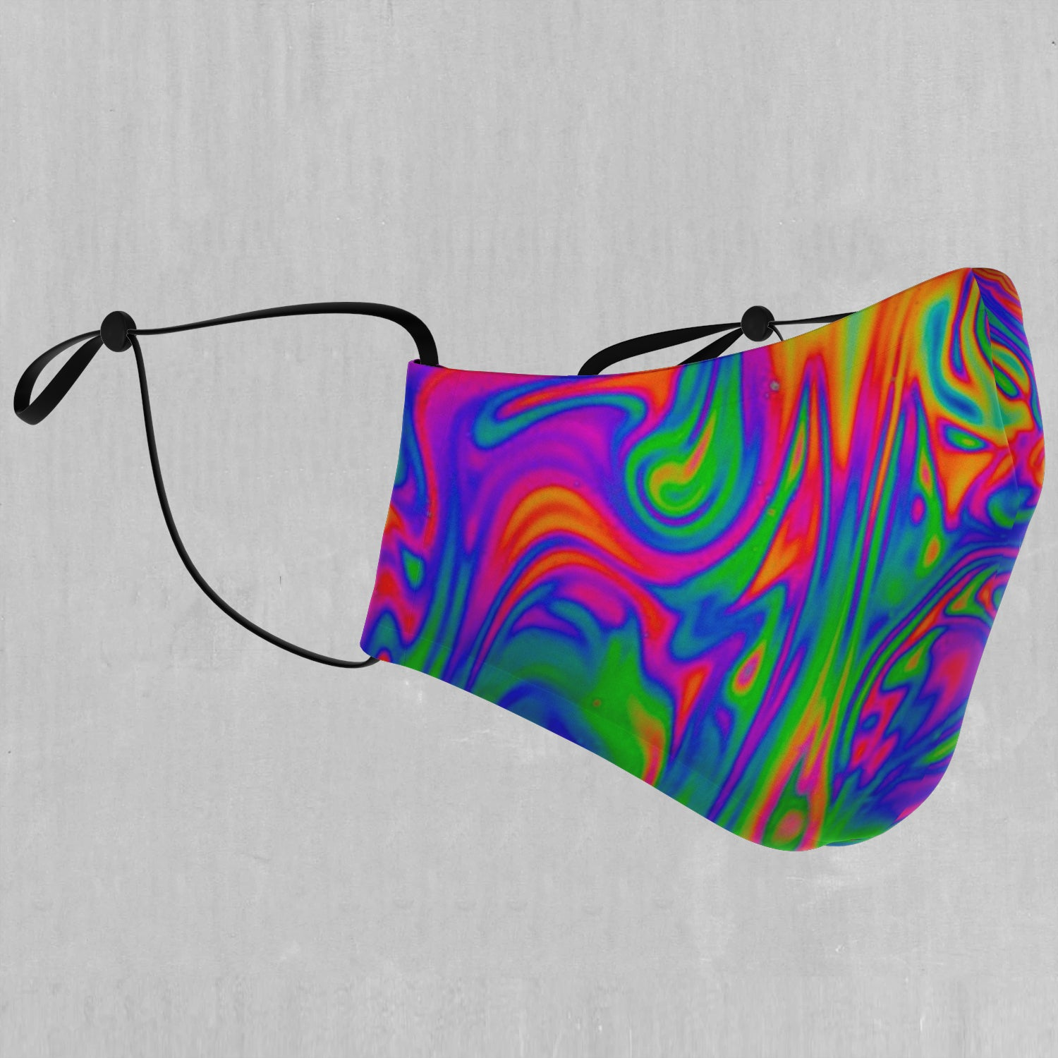 Acid Pool Face Mask - EDM Rave Festival Street Wear Abstract Apparel