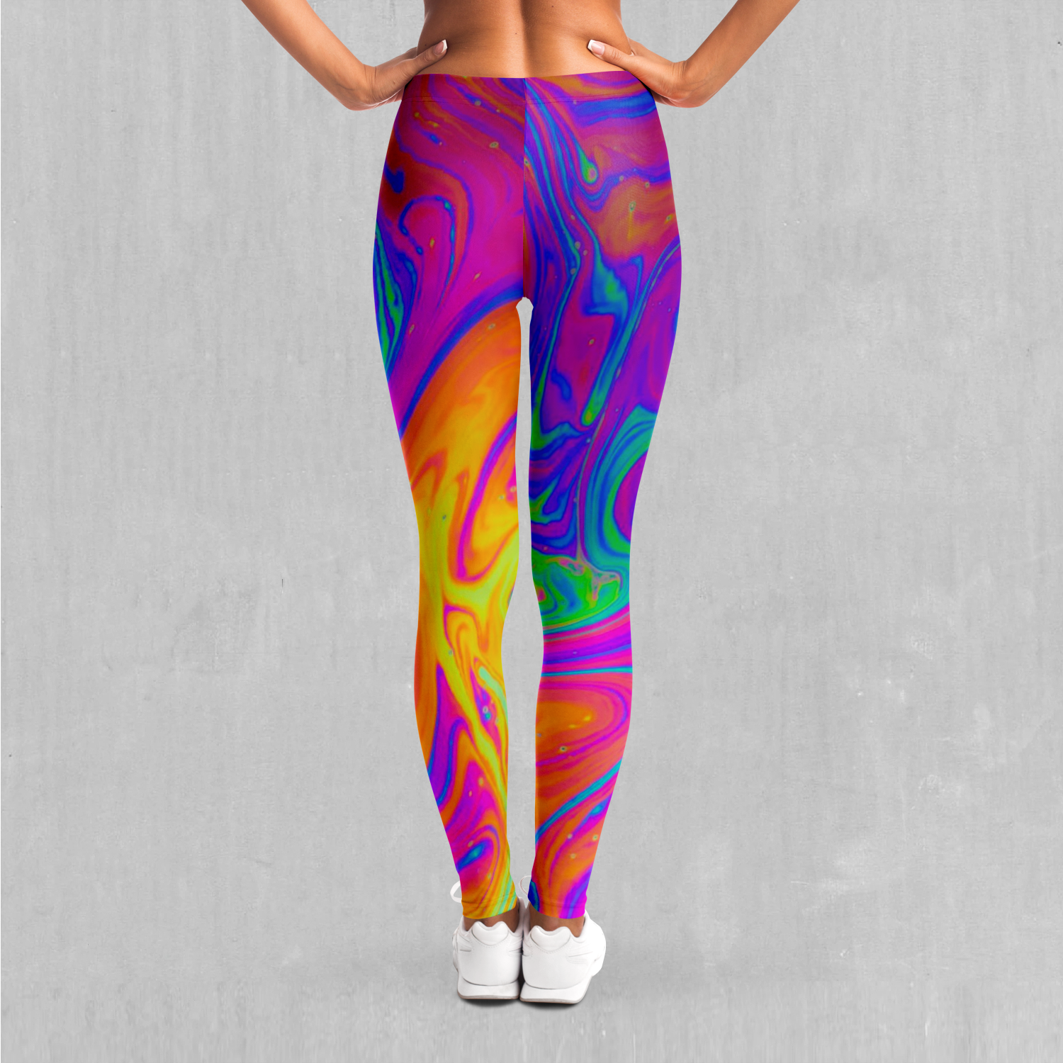 Acidic Drip Leggings - Azimuth Clothing