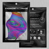 Acidic Drip Face Mask - EDM Rave Festival Street Wear Abstract Apparel
