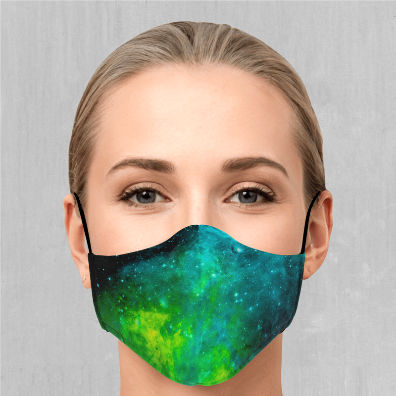 Acidic Realm Face Mask - EDM Rave Festival Street Wear Abstract Apparel