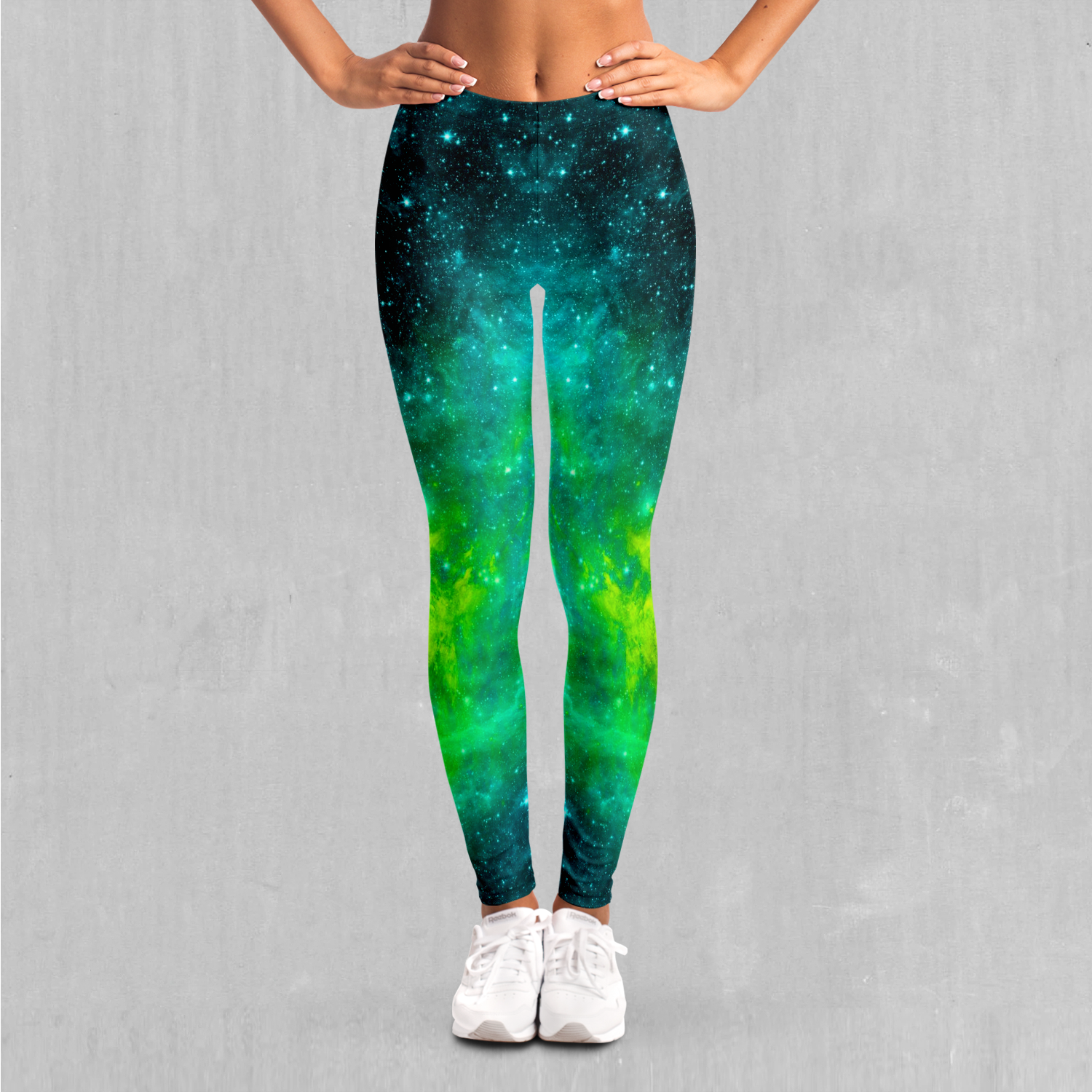 Acidic Realm Leggings - EDM Rave Festival Street Wear Abstract Apparel
