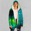 Acidic Realm Cloak - EDM Rave Festival Street Wear Abstract Apparel