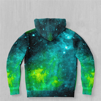 Acidic Realm Hoodie - EDM Rave Festival Street Wear Abstract Apparel