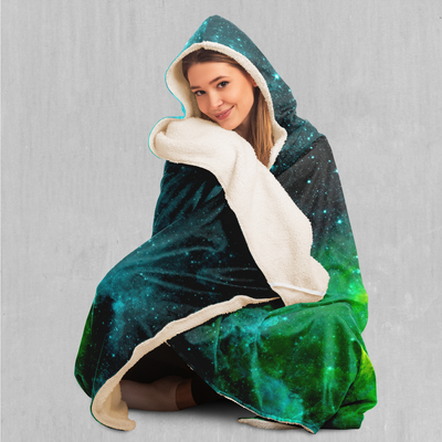 Acidic Realm Hooded Blanket