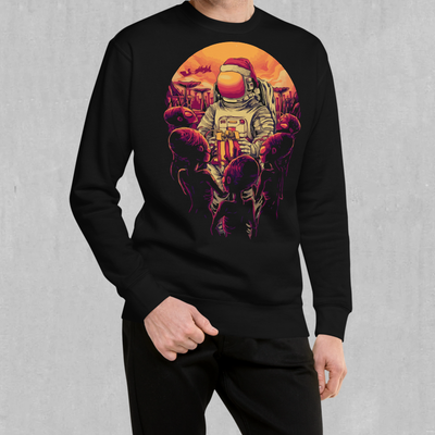 Alien Christmas Sweatshirt