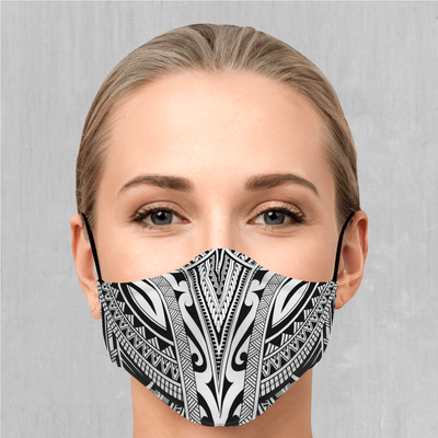 Ancient Tribe Face Mask - EDM Rave Festival Street Wear Abstract Apparel