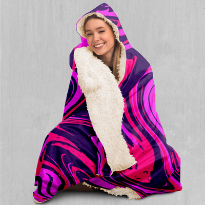 Candy Drip Hooded Blanket