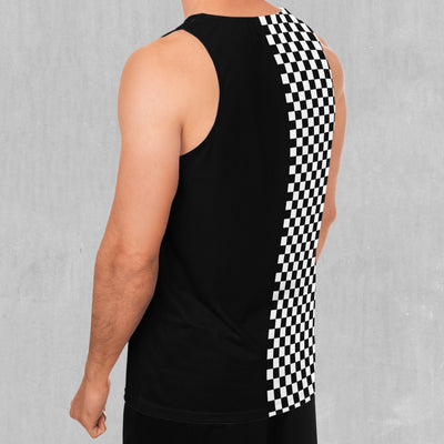 Checkerboard Men's Tank Top