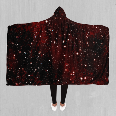 Crimson Space Hooded Blanket