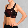 Crimson Space Sports Bra