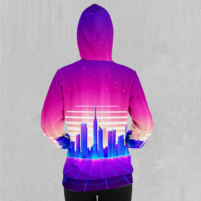 Cyber City Hoodie - EDM Rave Festival Street Wear Abstract Apparel