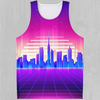 Cyber City Men's Tank Top - EDM Rave Festival Street Wear Abstract Apparel