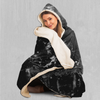 Dark Matter Hooded Blanket