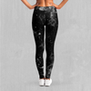 Dark Matter Leggings - EDM Rave Festival Street Wear Abstract Apparel
