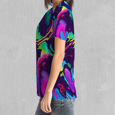 Dream Spectrum Tee - EDM Rave Festival Street Wear Abstract Apparel