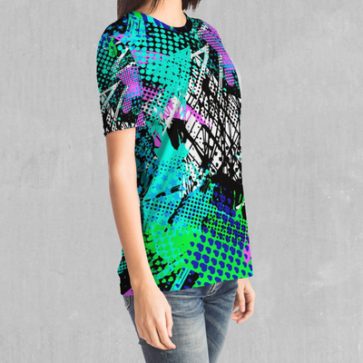 Electric Avenue Tee - EDM Rave Festival Street Wear Abstract Apparel