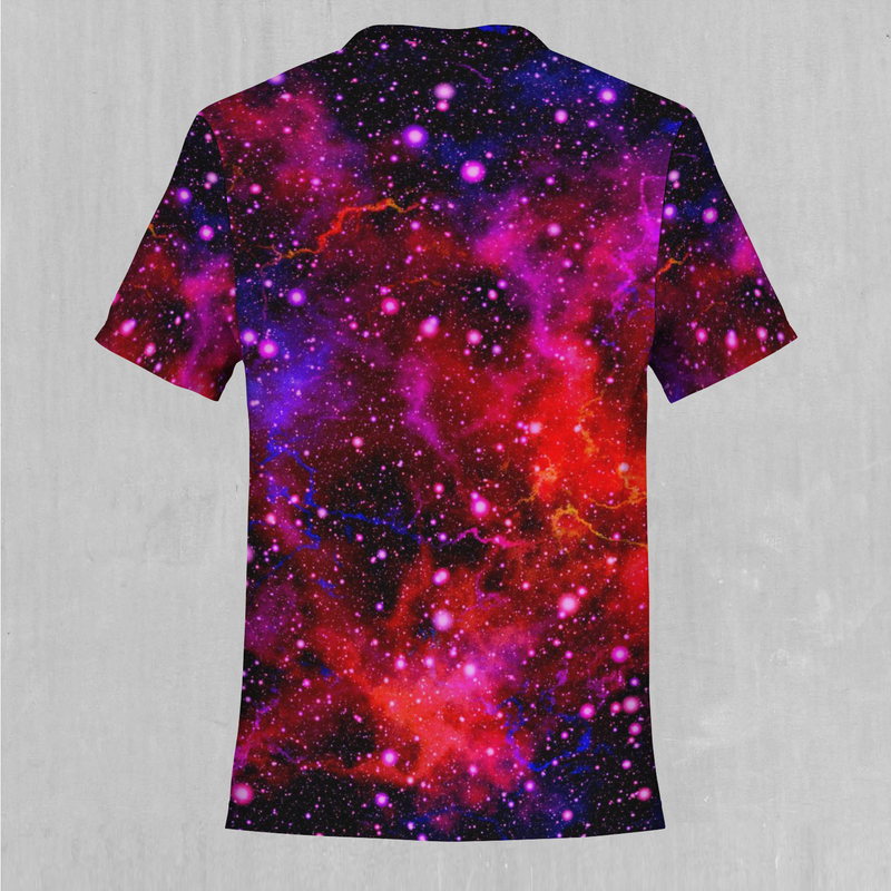 Electric Galaxy Tee - EDM Rave Festival Street Wear Abstract Apparel