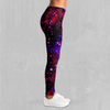 Electric Galaxy Leggings - EDM Rave Festival Street Wear Abstract Apparel
