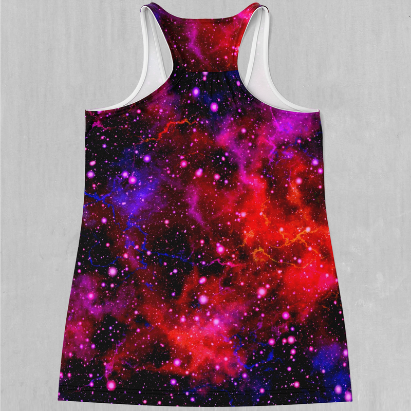 Electric Galaxy Women's Tank Top