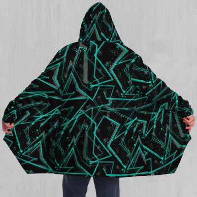 Electrostatic Cloak - EDM Rave Festival Street Wear Abstract Apparel