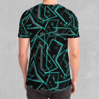 Electrostatic Tee - EDM Rave Festival Street Wear Abstract Apparel