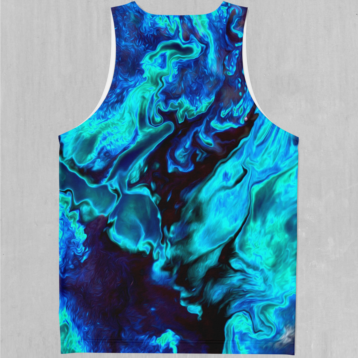 Enigma Sea Men's Tank Top - EDM Rave Festival Street Wear Abstract Apparel
