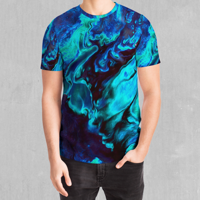 Enigma Sea Tee - EDM Rave Festival Street Wear Abstract Apparel