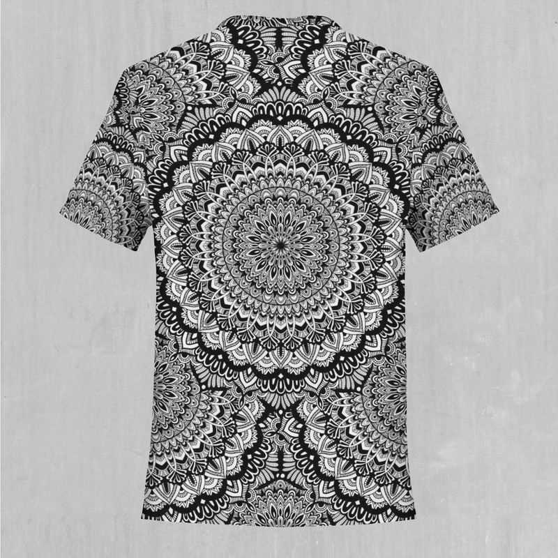 Floral Mandala Tee - EDM Rave Festival Street Wear Abstract Apparel