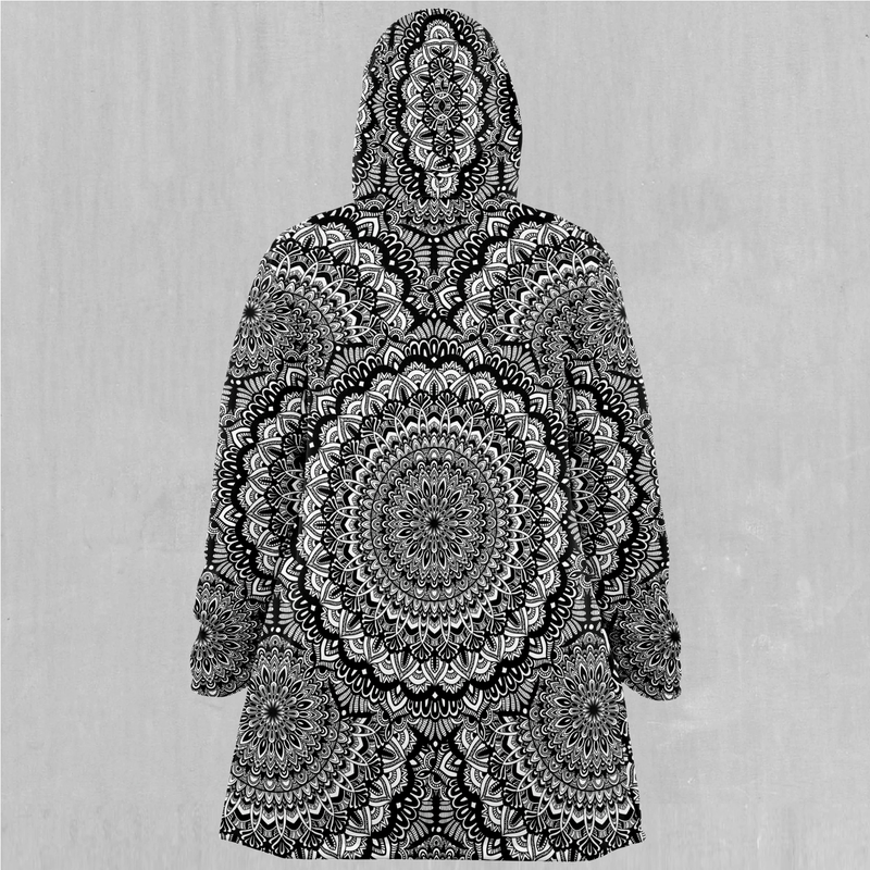 Floral Mandala Cloak - EDM Rave Festival Street Wear Abstract Apparel