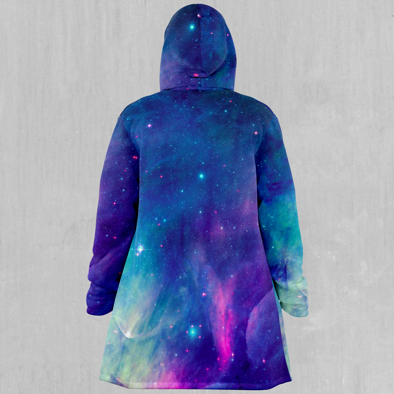 Frost Nebula Cloak - EDM Rave Festival Street Wear Abstract Apparel