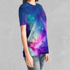 Frost Nebula Tee - EDM Rave Festival Street Wear Abstract Apparel