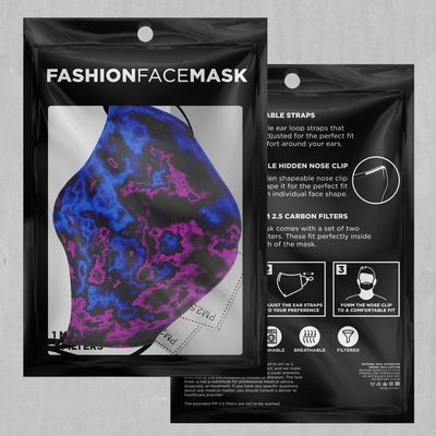Geocidic Face Mask - EDM Rave Festival Street Wear Abstract Apparel