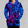 Geocidic Hoodie - EDM Rave Festival Street Wear Abstract Apparel