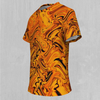 Lava Flow Tee - EDM Rave Festival Street Wear Abstract Apparel