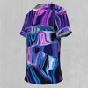 Liquid Amethyst Tee - EDM Rave Festival Street Wear Abstract Apparel