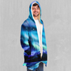Northern Lights Cloak - EDM Rave Festival Street Wear Abstract Apparel