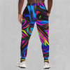 Psychedelic Waves Joggers