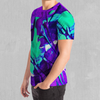 Radioactive Tee - EDM Rave Festival Street Wear Abstract Apparel