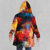 Rainbow Dust Cloak - EDM Rave Festival Street Wear Abstract Apparel