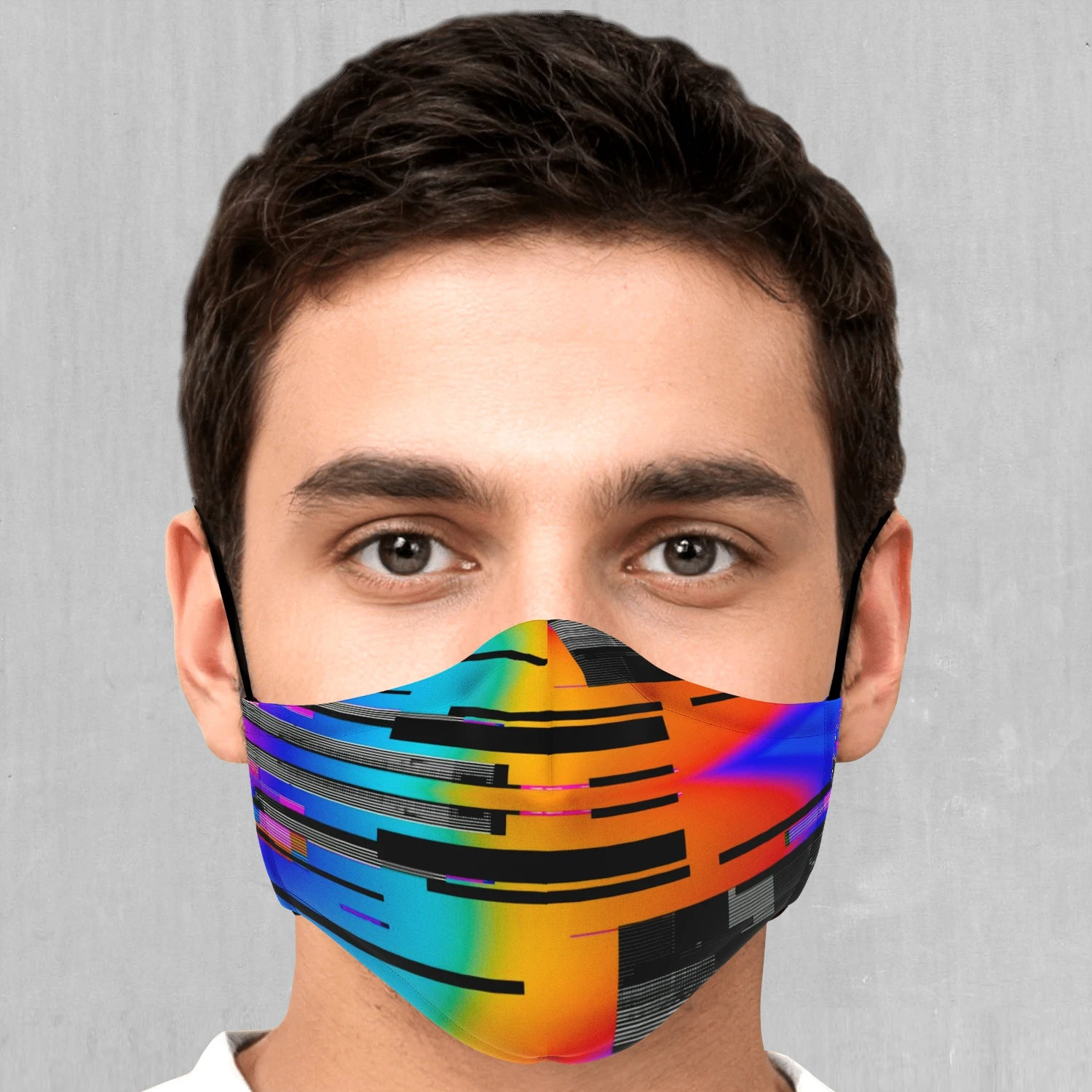 Spectrum Noise Face Mask - Azimuth Clothing