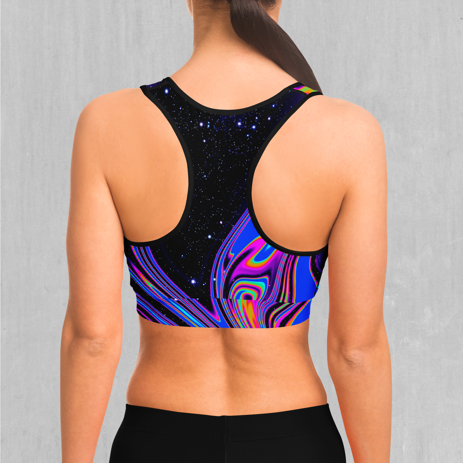 Chromatic Cosmos Sports Bra