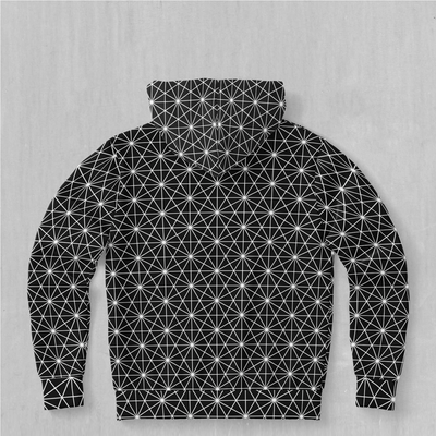 Star Net Hoodie - EDM Rave Festival Street Wear Abstract Apparel