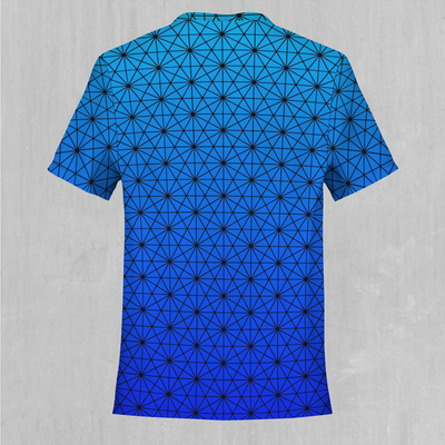 Star Net (Frost) Tee - EDM Rave Festival Street Wear Abstract Apparel