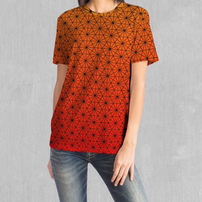 Star Net (Pyro) Tee - EDM Rave Festival Street Wear Abstract Apparel